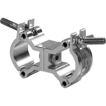 C6006B - Aluminum trigger swivel coupler, 50kg load, 32-35mm tubes, Black #2