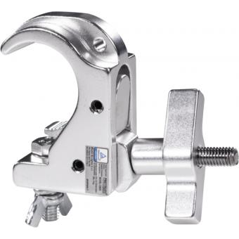 C6035B - Slim aluminum clamp, 75kg loading, 32-35mm tubes, M8 bolt, Black #2
