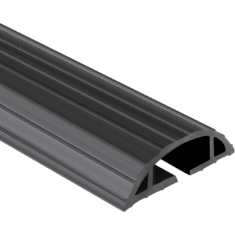 CC116 - Cable protector for indoor, 1 duct (LxH) 38x16 mm, size (WxHxD) 900x2,5x7,6 cm