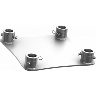 SQ30FPB - Aluminium ground base for square section trusses, SQ-HQ30, BK