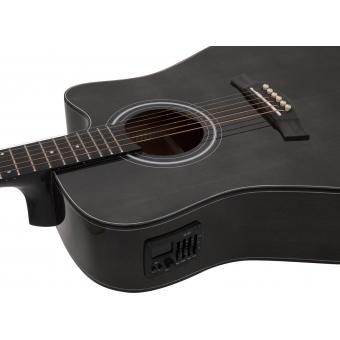 DIMAVERY electro-acoustic guitar STW-90 Western Vintage #2