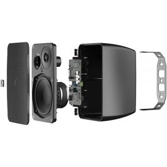 Boxe active interior AUDAC ARES5A/B Black #4