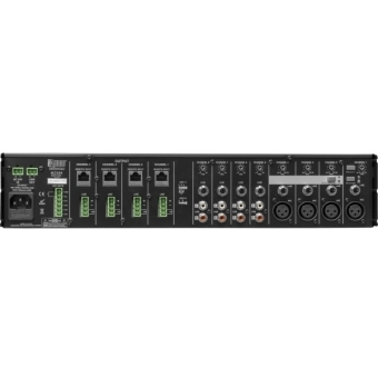 Mixer Rack ProAudio MZX84 4-zone mixer, 2U rack, equipped with 8 inputs and 4 assignable outputs #2