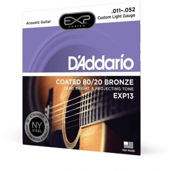 Corzi chitara acustica D'Addario EXP13 #2