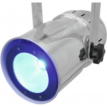 EUROLITE LED PAR-30 COB RGB 30W sil #12