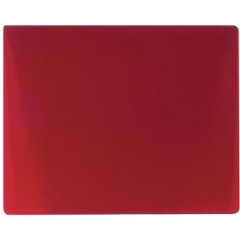 EUROLITE Flood glass filter, red, 165x132mm