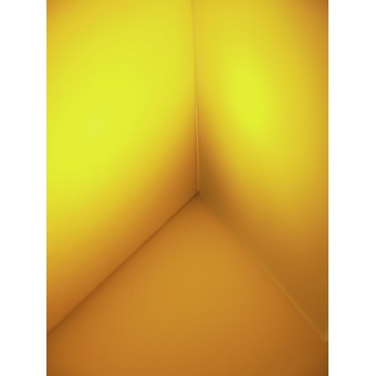 EUROLITE Dichro, yellow, frosted, 165x132mm