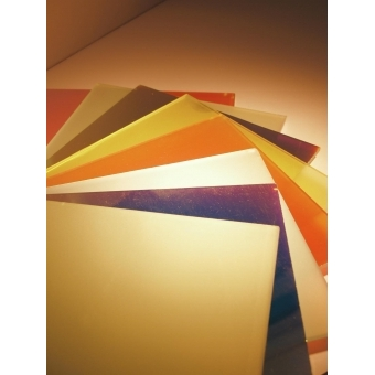 EUROLITE Dichro, yellow, frosted, 165x132mm #3