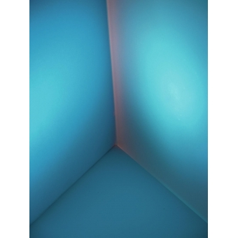 EUROLITE Dichro, light blue, frost, 165x132mm