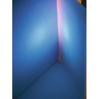 EUROLITE Dichro, blue, frosted, 165x132mm