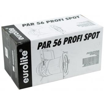 EUROLITE PAR-56 Spot Long with Cable bk #8