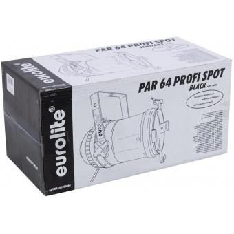EUROLITE PAR-64 Spot Long with Cable bk #6