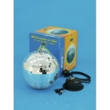 EUROLITE Mirror Ball 20cm with MD-1015 Motor