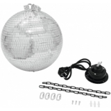 EUROLITE Mirror Ball 30cm, with MD-1515 Motor