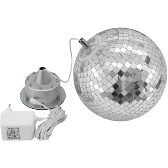 EUROLITE LED Mirror Ball 20cm, with Motor FC #2