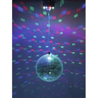 EUROLITE LED Mirror Ball 20cm, with Motor FC #4