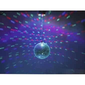 EUROLITE LED Mirror Ball 20cm, with Motor FC #5