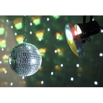 EUROLITE Mirror Ball Set 20cm with Pinspot #5
