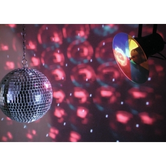 EUROLITE Mirror Ball Set 20cm with Pinspot #6