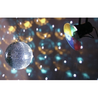 EUROLITE Mirror Ball Set 20cm with Pinspot #9