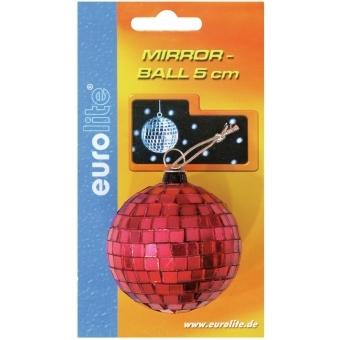 EUROLITE Mirror Ball 5cm red