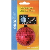 EUROLITE Mirror Ball 5cm red