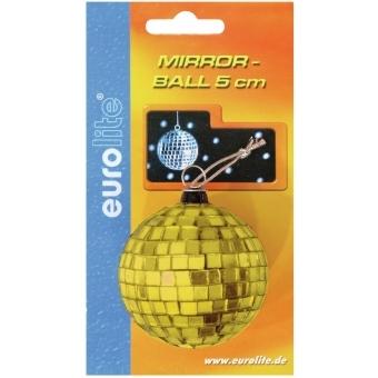 EUROLITE Mirror Ball 5cm yellow