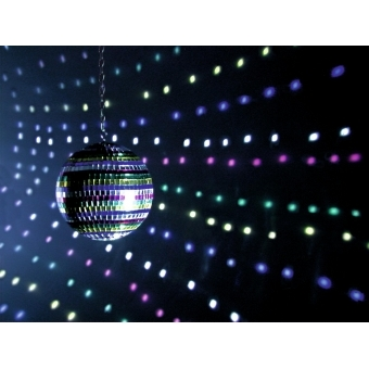 EUROLITE Mirror Ball 20cm Multicolor #2