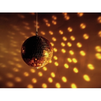 EUROLITE Mirror ball 15cm gold #2