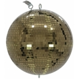 EUROLITE Mirror Ball 30cm gold