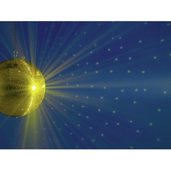 EUROLITE Mirror Ball 40cm gold #2