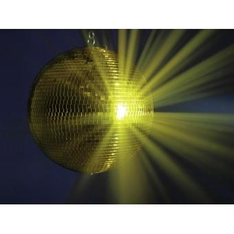 EUROLITE Mirror Ball 40cm gold #3