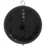 EUROLITE Mirror Ball 20cm black