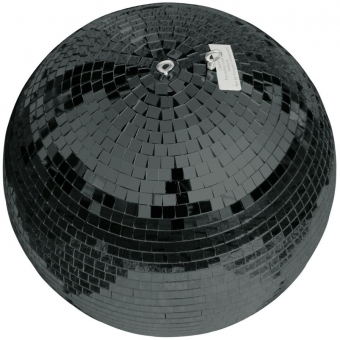EUROLITE Mirror Ball 30cm black #2