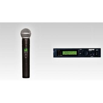 Sistem complet SHURE wireless handheld ULXP24/58