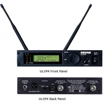 Receptor Wireless SHURE ULXP4 #2