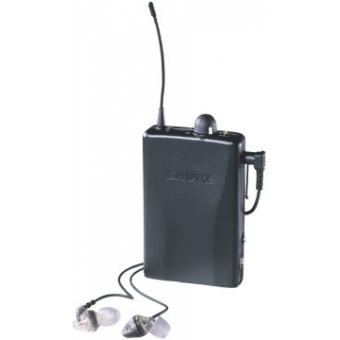 Receptor Wireless Bodypack SHURE P2R