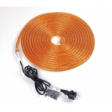 EUROLITE RUBBERLIGHT RL1-230V orange 9m