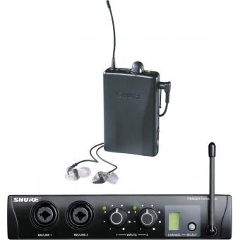 Sistem personal monitor SHURE wireless in ear PSM 200