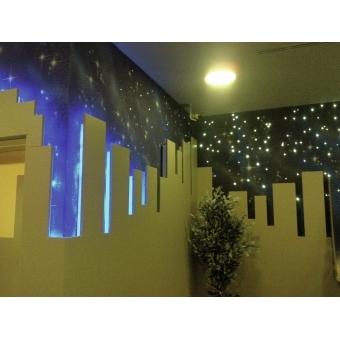 EUROLITE RUBBERLIGHT LED RL1-230V blue 9m #6