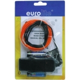 EUROLITE EL-Wire 2mm, 2m, red
