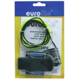EUROLITE EL Wire 2mm, 2m, yellow