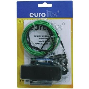 EUROLITE EL Wire 2mm, 2m, green