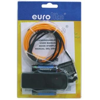 EUROLITE EL Wire 2mm, 2m, orange