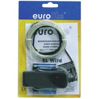 EUROLITE EL Wire 2mm, 2m, white, 6400K