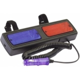 EUROLITE Strobe Police Beacon Rear Mirror 12V