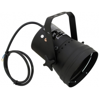 EUROLITE T-36 Pinspot with Cable, black #2