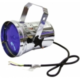 EUROLITE T-36 Pinspot with Cable, silver