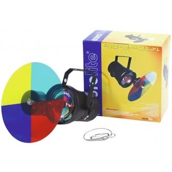 EUROLITE Color-Changer-Set + PAR-36 Pinspot