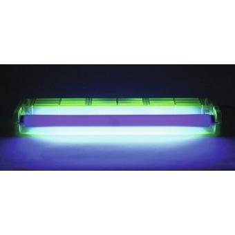 EUROLITE UV Tube Complete Fixture 45cm 15W green #6